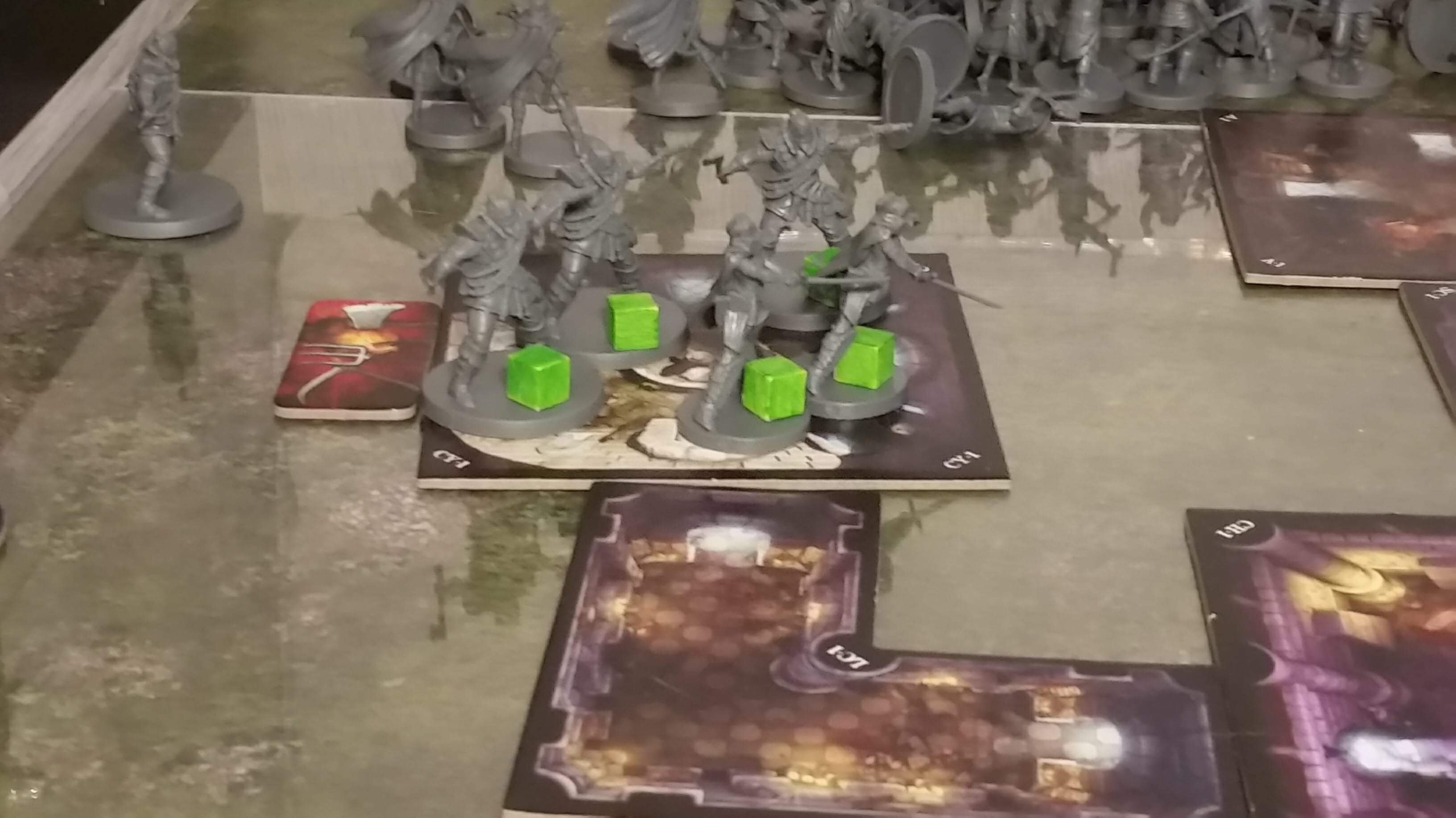 VILLAGE ATTACKS HORRORS OF THE SANDS EXPANSION PACK FOR BOARD GAME