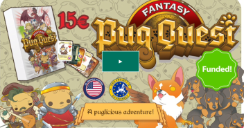 Image taken from the Pug Quest campaign page